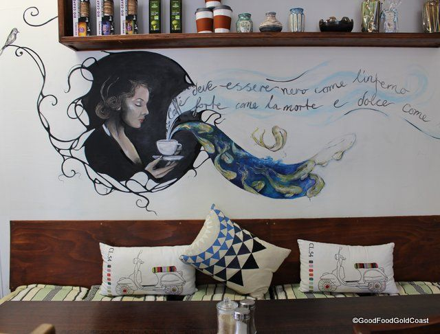 Want to get away from the crowds? Love organic food? Then check out the Lakeview Cafe and General Store in Burleigh for a slower pace. Gold Coast, Queensland.