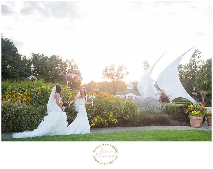 Franklin Park Conservatory Wedding Photography | Two Maries Fine Art Wedding Photography | www.twomaries.com