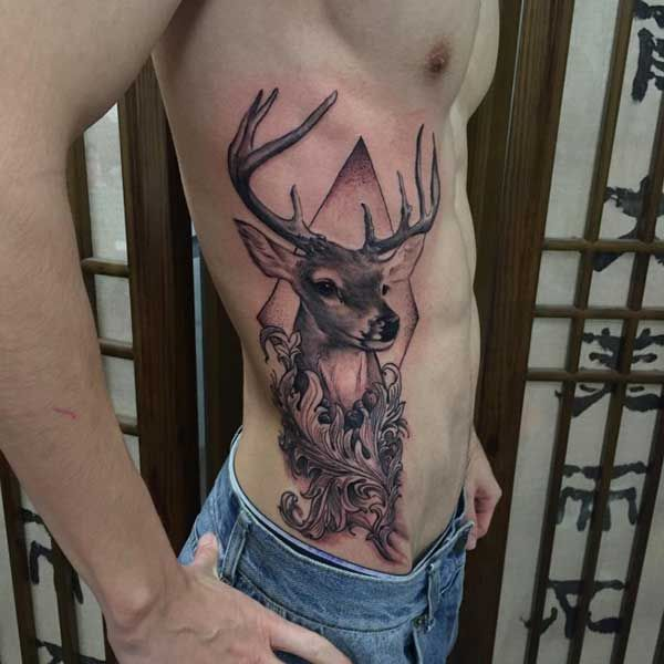 61 besten geyik d vmeleri deer tattoos bilder auf. Black Bedroom Furniture Sets. Home Design Ideas