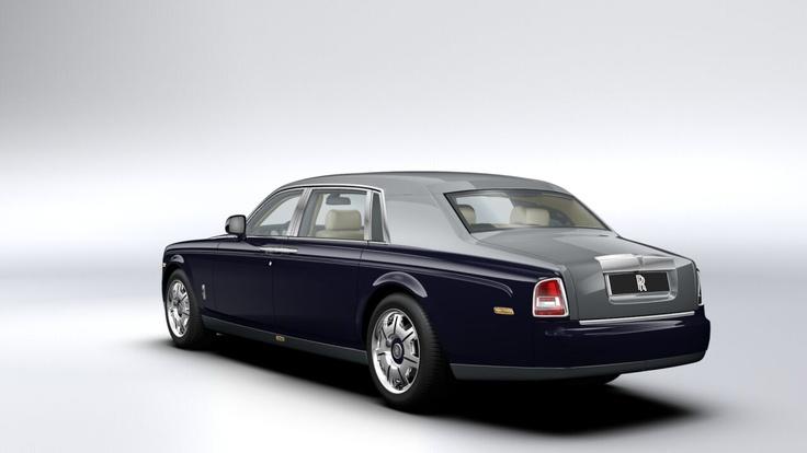 Rolls Royce Phantom Extended Wheelbase  Blue Velvet/Jubilee Silver