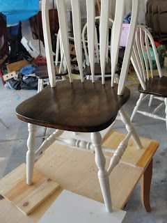 For Instant Beauty... add Elbow Grease: Your everyday every house Windsor chair REDO