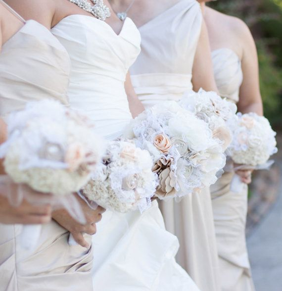 how to make fabric flowers for wedding