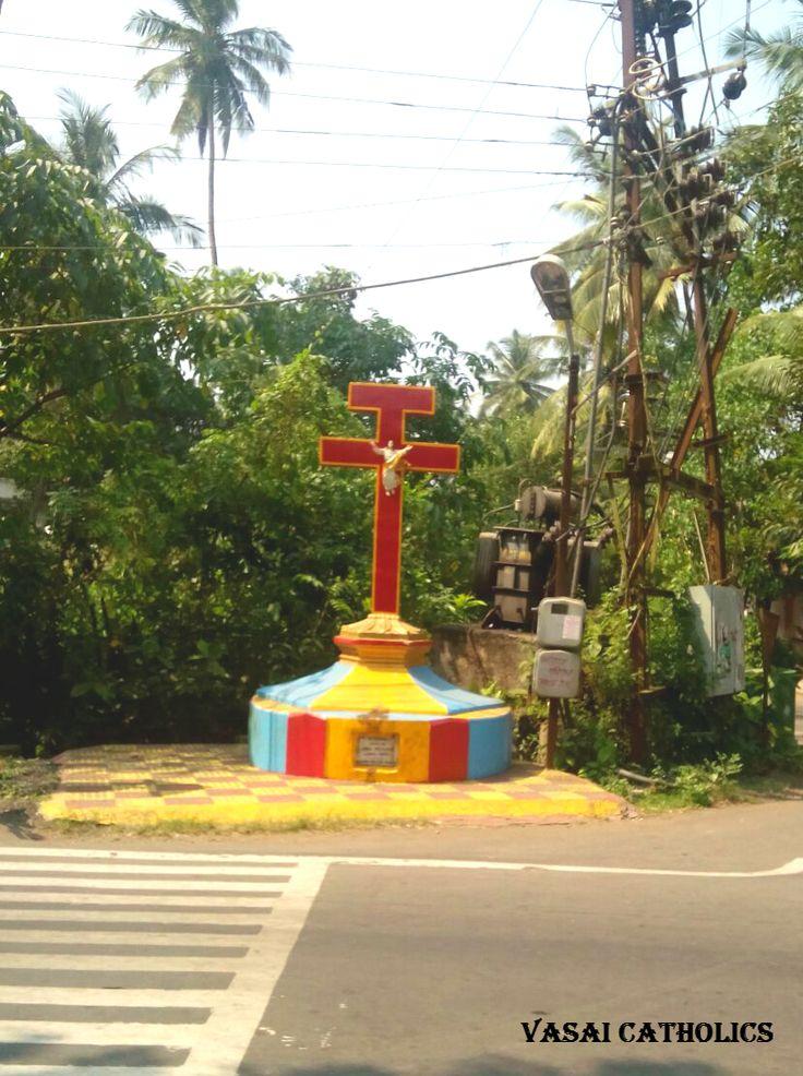 Community Cross in Girij, Vasai West.