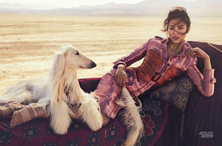 Liu Wen by Will Davidson for Vogue Australia March 2013
