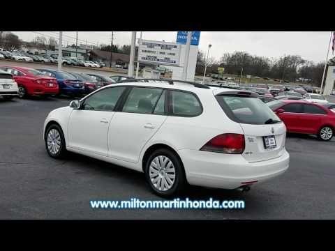 USED 2013 VOLKSWAGEN JETTA SPORTWAGEN 4DR AUTO S PZEV at Milton Martin Honda  #33734A
