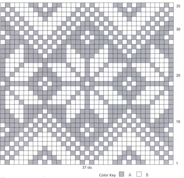 Norwegian Snowflake Knitting Charts