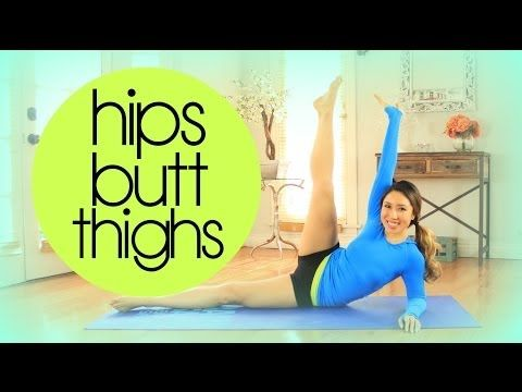 ▶ Hips Butt 'n Thighs Super Shaper Workout | POP Pilates - YouTube