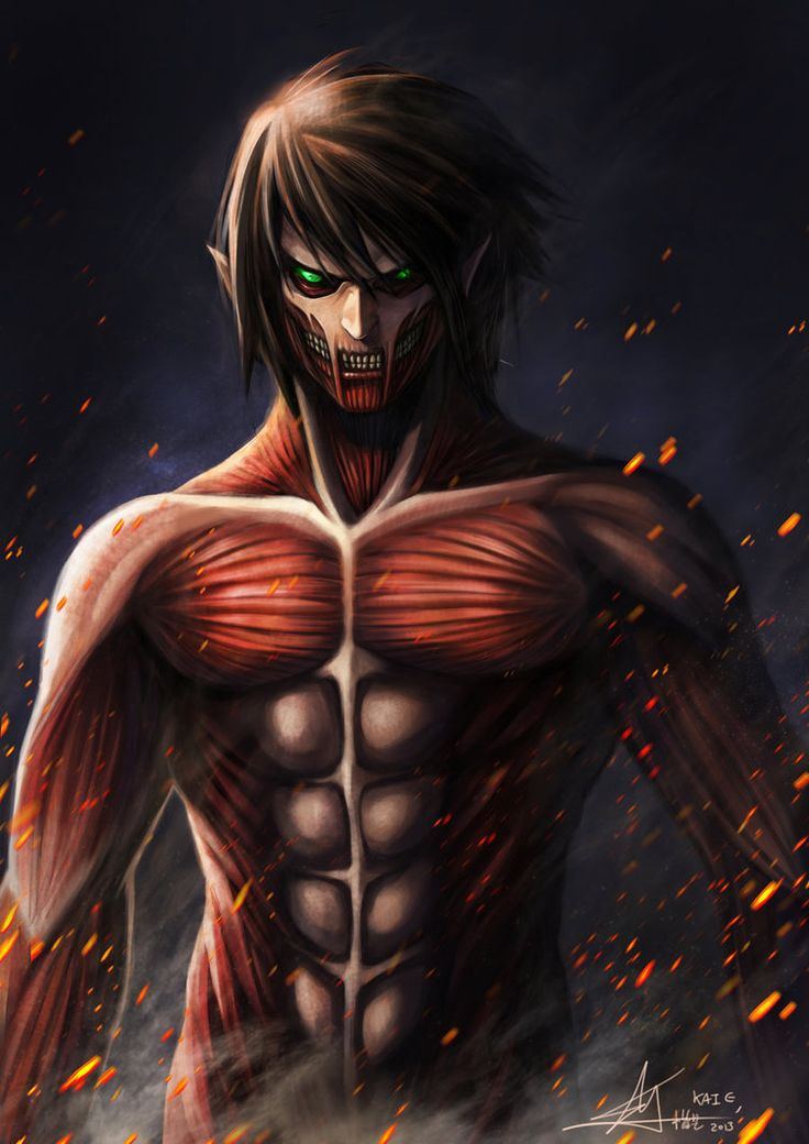 eren attack on titan | eren titan 2.5 by ~sohai9132 on ...