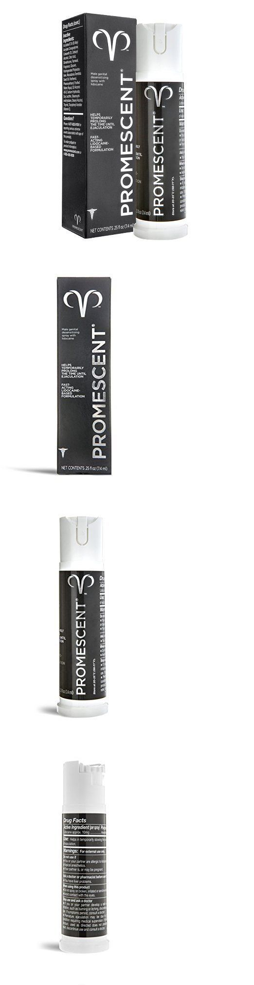 Sexual Remedies and Supplements: Promescent Male Premature Ejaculation Prolong Spray Standard (7.4 Ml) Exp 01/17 BUY IT NOW ONLY: $44.95