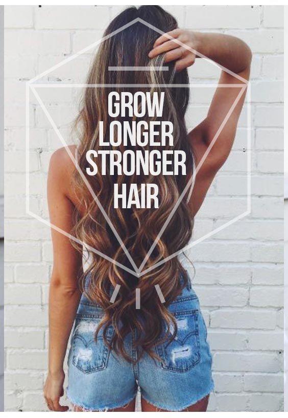Simple hair treatment for longer, stronger, healthier hair.