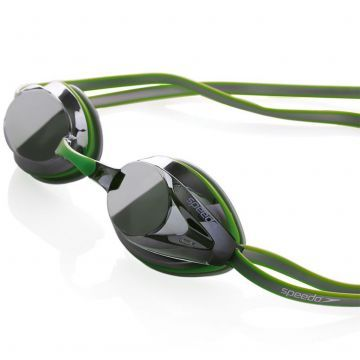 Speedo Opal Plus Aynalı Yüzücü Gözlüğü - Yeşil