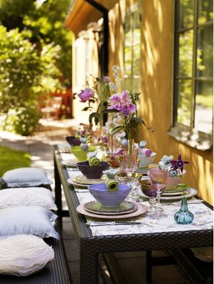 repinned from al fresco byDecor, Outdoor Dining, Alfresco, Al Fresco Dining, Tables Scapes, Outdoor Tables Sets, Dinner Parties, Outdoor Spaces, Gardens Parties