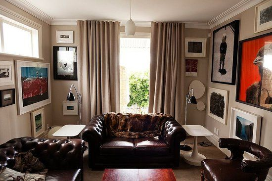 Low Ceiling decorating tips: Karen O'Neil, Wall Spaces, Living Rooms, Artworks, Fashion Design, Hanging Curtains, Karen Walker, High Low, New Zealand