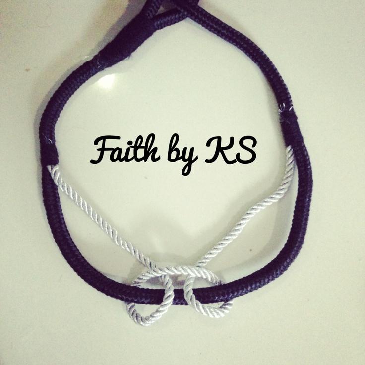 Black and silver . Faith by KS