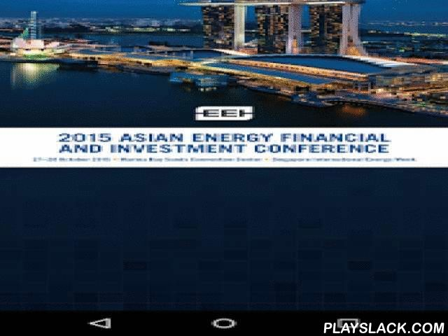 AEFIC  Android App - playslack.com , Edison Electric Institute (EEI) is holding its 2nd Asian Energy Financial and Investment Conference during Singapore International Energy Week 2015 (SIEW). Mr. Wang Min, Executive Vice President of State Grid Corporation of China, will keynote the Conference and present State Grid's perspective on the challenges and opportunities of financing the Asian energy sector.SIEW draws 10,000 delegates including numerous heads of state, ministerial-level officials…