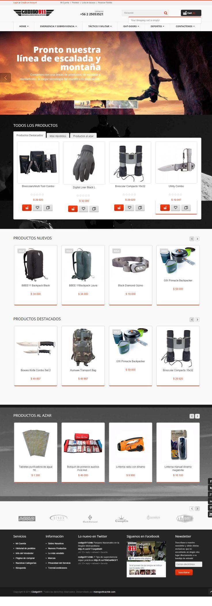 Desarrollo web e-comerce