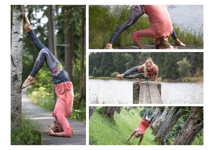 Yoga poses with Teeki leggings