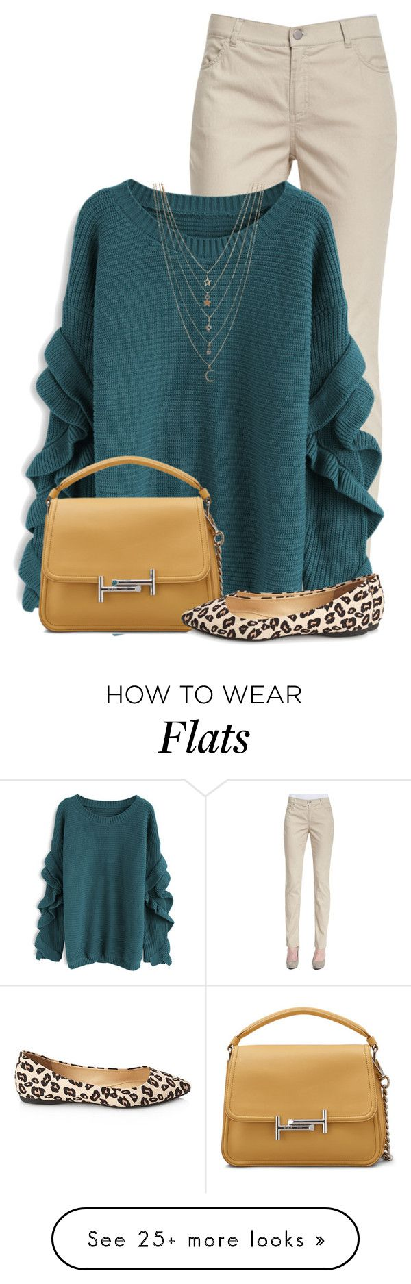 """""""Leopard Shoes"""" by daiscat on Polyvore featuring Lafayette 148 New York, Chicwish, Tod's, Forever 21 and Ettika"""