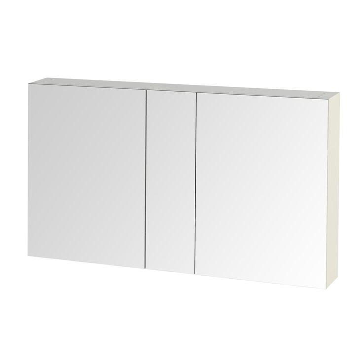 Tiger S-line spiegelkast 80 cm hoogglans wit