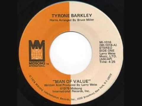 Tyrone Barkley Man Of Value