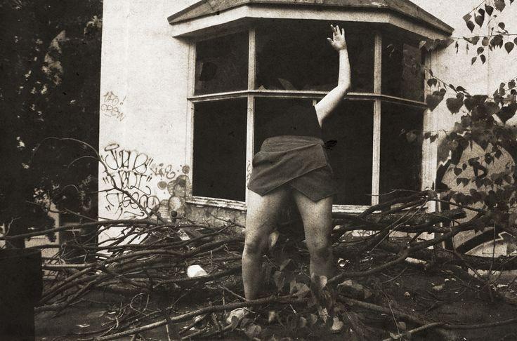 Horror scene - Photo from old maternity hospital in Bratislava - Zochova