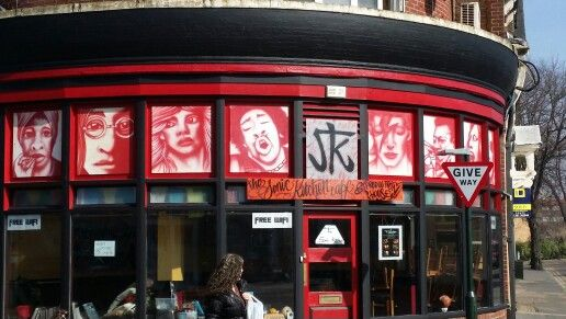 Boscombe record shop