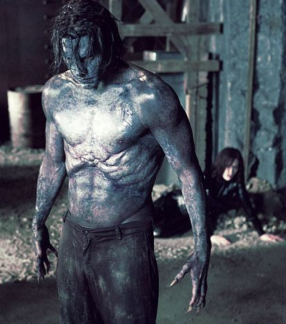 "Scott Speedman as the Lycan-Vampire hybrid Michael Corvin in 2003's ""Underworld"""