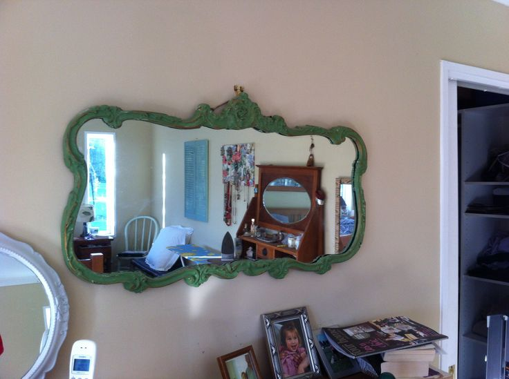 Re painted mirror