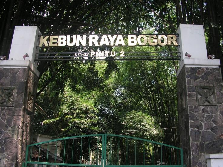 Kebun Raya Bogor Bogor Indonesia Kebun Indonesia Pintu
