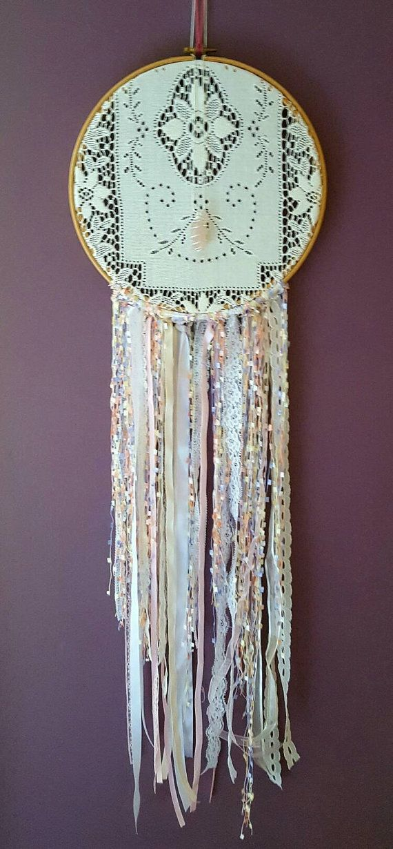 Wedding dreamcatcher by CallunaMoss on Etsy