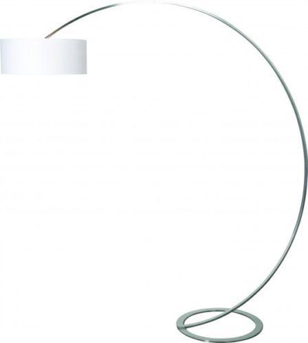 Lampe a arc design nickel lampadaire lampe sur pied lampe de lecture neuve 45448