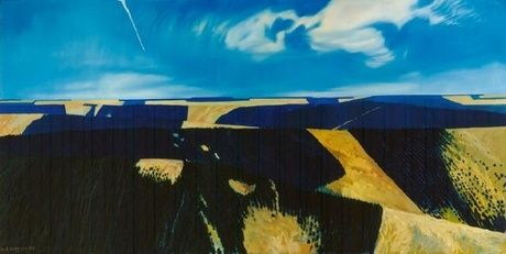 William Alexander Sutton. Plantation Series II 1986. Oil on canvas.