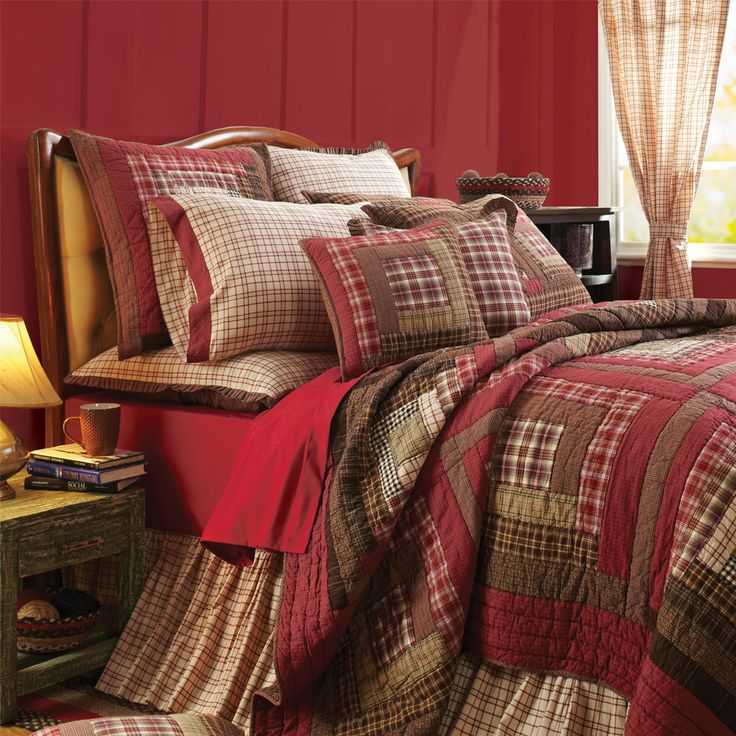 16 best Rustic bedding images on Pinterest Home ideas Bedspreads