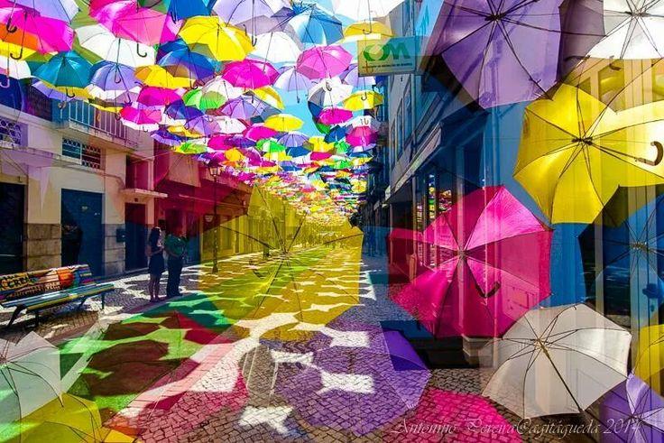 #Agueda #Agitagueda2014 #Art #streets #umbrellas