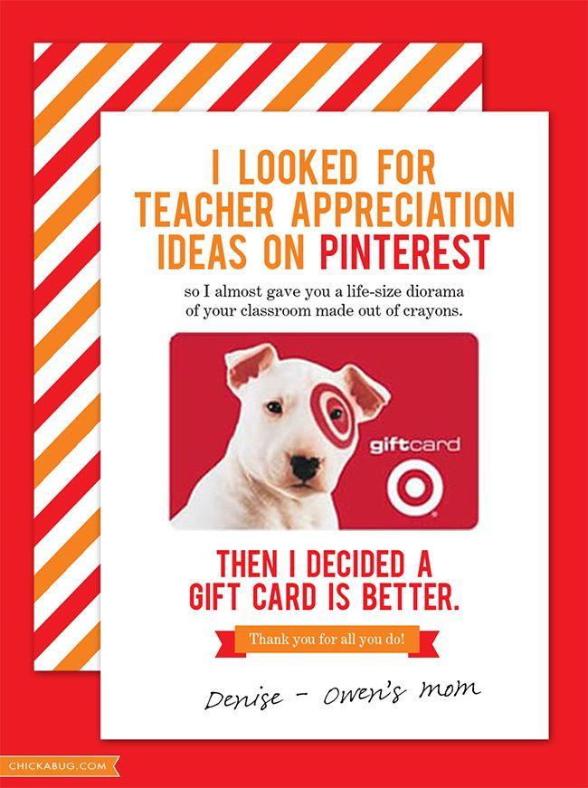 Free Teacher Appreciation Printable www.247moms.com #247moms LOVE THIS!!! TOO TRUE poor teachers really do get a lot of useless junk