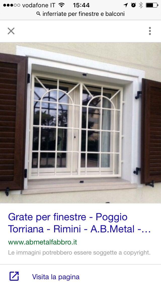 Inferriate per finestre con balconi kangjella nel 2019 for Grate in legno per balconi