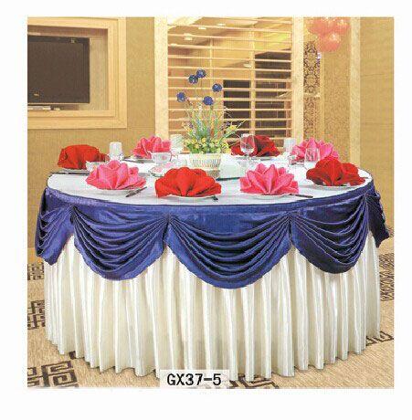 table cloth with nice skirt