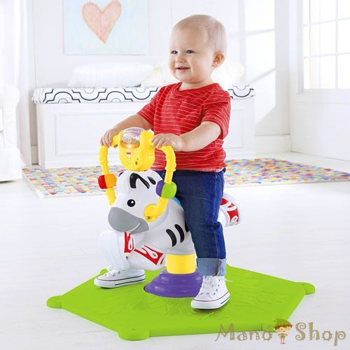 Fisher Price Hipp hopp Ugráló Zebra (K0317)