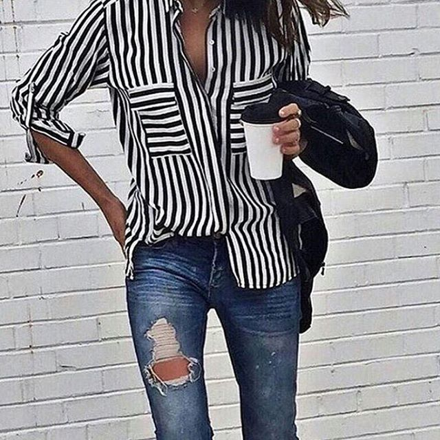 Because I'm still into stripes // http://liketk.it/2oMAx #TBT #shalicenoel