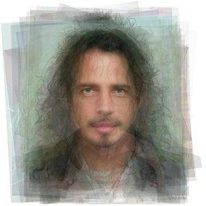 Chris Cornell Digital Art - Chris Cornell Portrait by Steve Socha