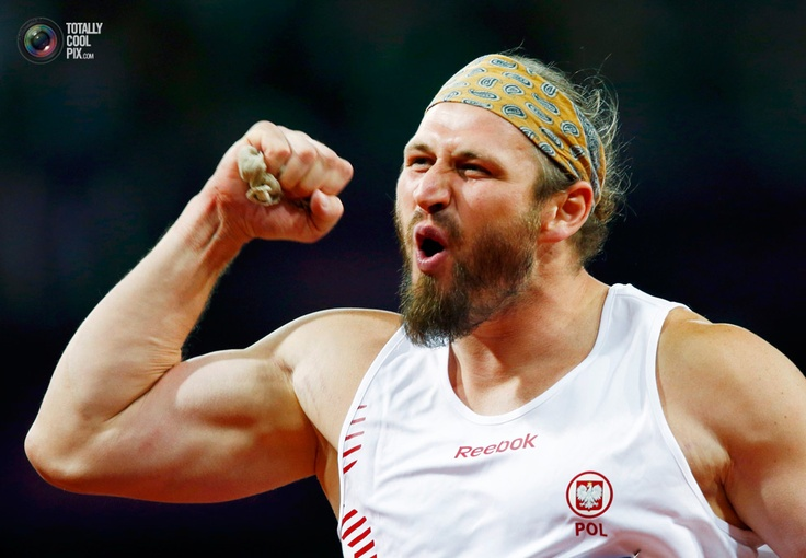 Day 7 - Poland's Tomasz Majewski celebrates winning gold in the men's shot put final at the London 2012 Olympic Games at the Olympic Stadium. EDDIE KEOGH/REUTERS