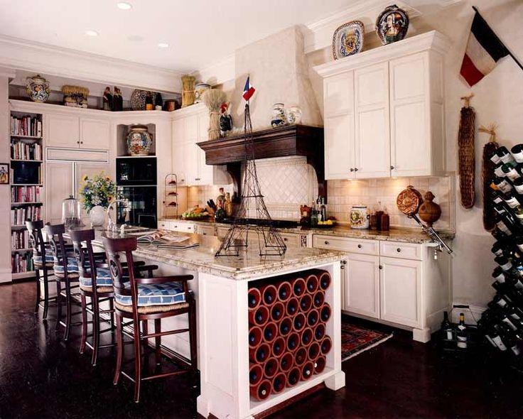 nautical kitchen..with bookshelves!