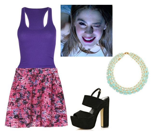 """""""violetta ... <3"""" by la-connasse-de-france ❤ liked on Polyvore featuring Active, Monki, River Island and Les Néréides"""