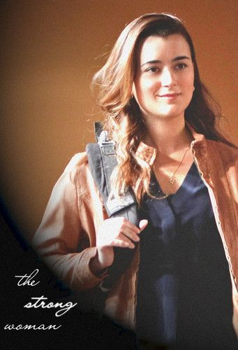 "The strong woman - Ziva David (NCIS) who kicked major A** would love to see her battle ""Shaw"" from ""Person of Interest"""