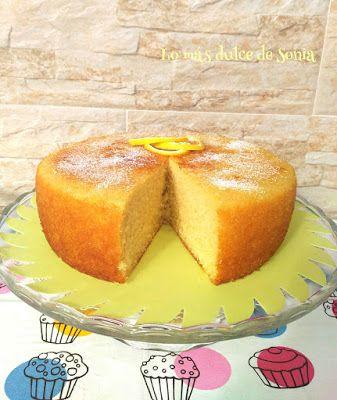 Lo más dulce de Sonia: Bizcocho de limón, limón