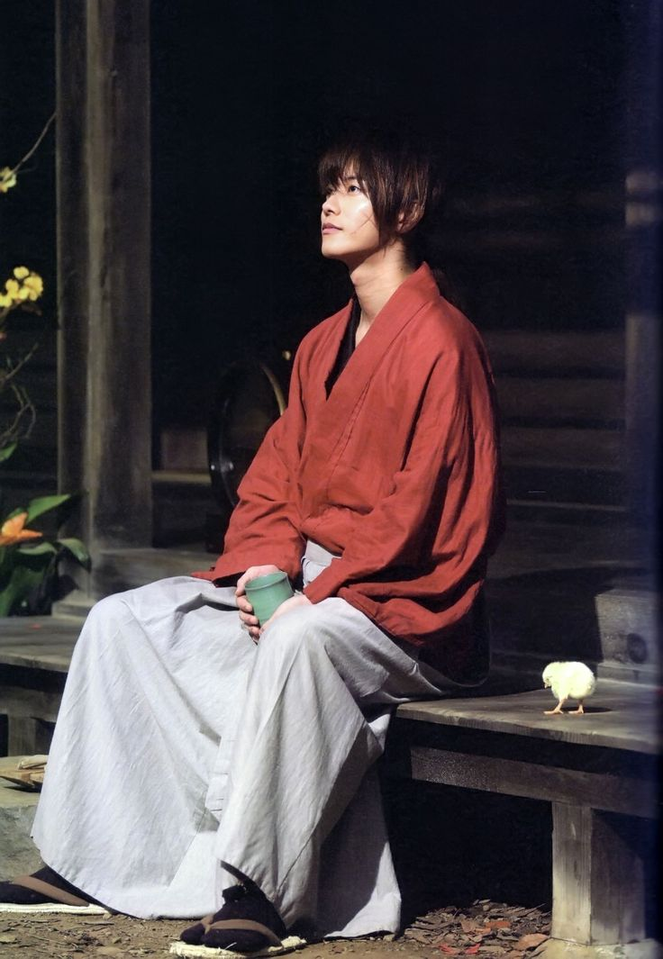 Takuro Satoh as Himura Kenshin in the live-action films - a perfect casting choice! #ruroken #RurouniKenshin