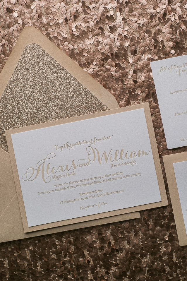 TIFFANY Suite Fancy Glitter Package. Fancy Wedding InvitationsWedding ...