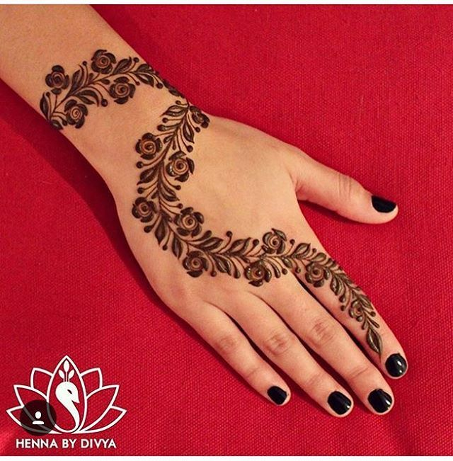 Mehndi Patterns Instagram : Cool henna patterns instagram makedes