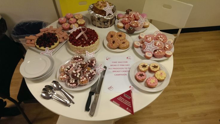 Cake sale for Wear It Pink Day 2014