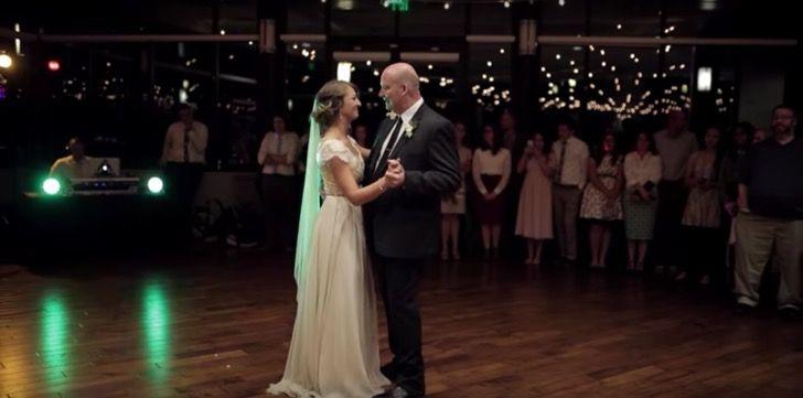 El tradicional baile de padre-hija es tradicional y dulce hasta que papá voltea y se vuelve épico